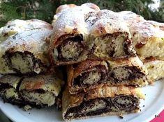 Zalai kelt / kőtt/ rétes, mákos és túrós töltelékkel Hungarian Cuisine, Hungarian Recipes, Hungarian Food, Torte Cake, Sweet And Salty, Winter Food, Cheesesteak, Cookie Recipes, Sweet Treats