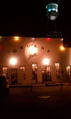 Gruene Hall- built in 1878 and believe to be one of the oldest dance halls in Texas