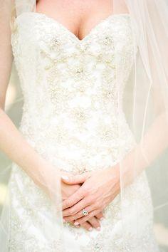 Wedding Dress: Sotterro-Midgely    - HarpersBAZAAR.com