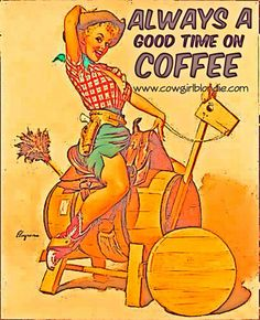 Always a good time on coffee!