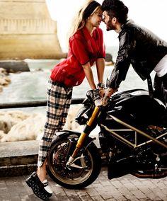 Gigi Hadid and Zayn Malik by Mario Testino for  Vogue US May 2016 (2)