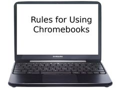 Chromebooks Rules for the Classroom - FREE