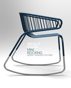 Whale Chair, Mini Rocking 2012 | chair . Stuhl . chaise | Design: Maxence Couther |