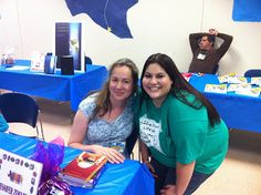 At the Laredo Book Festival with author Jennifer Ziegler!!
