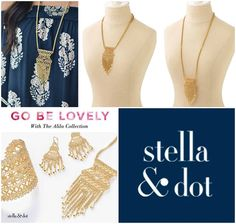 Win: Alila Lace Necklace from the current Stella & Dot collection. - http://www.competitions.ie/competition/win-alila-lace-necklace-current-stella-dot-collection/