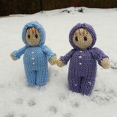 Ravelry: ClaireFairall's snow babies