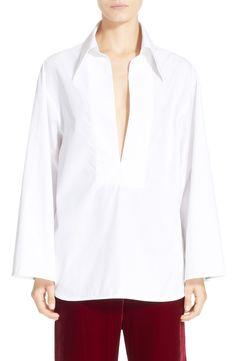 ELLERY 'Amethyst' Cotton Poplin Shirt