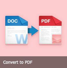 Konwersja do formatu PDF