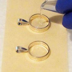 Polishing resin tutorials pinterest resin tutorials and resin resin pendants with glass beads aloadofball Choice Image
