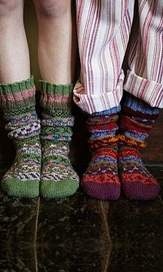 Knit some socks! How to have a wonderful time in fall with this top 10 guide. From decorating your home, to knitting cosy socks, there are plenty of things you can do to make Autumn the best season! Cozy Socks, Red Socks, Love Is In The Air, Slipper Socks, Winter Warmers, Material Girls, Knitting Socks, Knit Socks, Mode Style