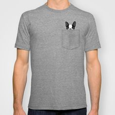 Pocket Boston Terrier T-shirt                                                                                                                                                      More