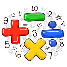 Find Vector Illustration Math Symbols Numbers stock images in HD and millions of other royalty-free stock photos, illustrations and vectors in the Shutterstock collection. Math Cartoons, Math Practice Worksheets, Powerpoint Design Templates, School Murals, Times Tables, Photo Images, Page Decoration, Math Numbers, School Decorations