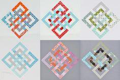 great interlocking seasons quilt block by theparfaitcafe on flickr.