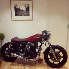motomood — Yamaha XS650 cafe racer
