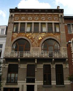 art nouveau in Brussels