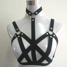 02ab1833e77c18 2017 Lingerie Underwear O-ring Mosaic Cloak Soft Gothic Bunched Bats  Erotica, BDSM SUPPLY