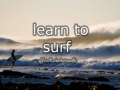 LEARN TO SURF #bucketlist done that one too good ol san diego days.