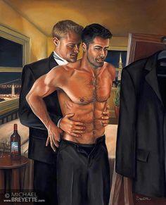 Michael Breyette - Couple at mirror