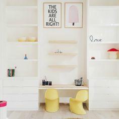 Las últimas tendencias en esta habitación infantil compartida: fotografías, ideas para decorar un dormitorio compartido por dos niñas a la última moda.