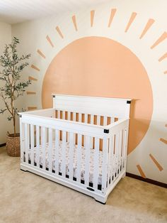 Nursery Wall Murals, Nursery Room, Nursery Decor, Bedroom Decor, Girl Nursery, Accent Wall Nursery, Kids Wall Murals, Mural Wall, Wall Art