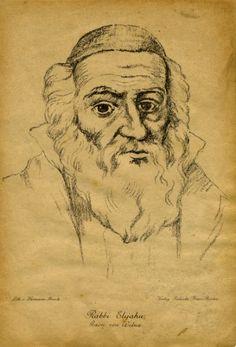 Portrait of the Gaon of Vilna.