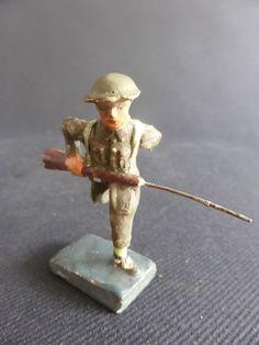 SOLDAT DURSO AU FUSIL EN COMPOSITION ELASTOLIN ARMEE BELGE MILITARY PATRIE | eBay