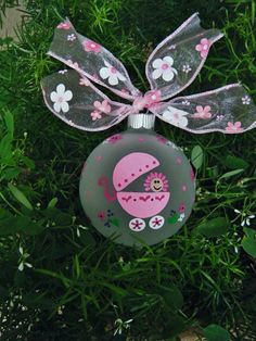 Newborn Baby Girl Personalized Ornament  by BrushStrokeOrnaments, $21.75