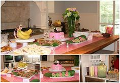 Monkey See, Monkey Do Party - Complete with Banana Split Bar!