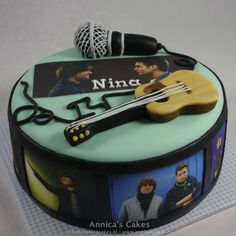 Nick en SImon taart voor Thijs zijn verjaardag