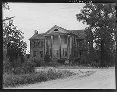 Antebellum Plantation by Dorothea Lange, 1937