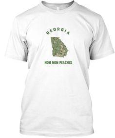 Georgia Nom Nom Peaches #420 #Georgia #GA #GSU #GASU #GeorgiaState #GeorgiaTech #GAStateUniversity #CollegeHumor #GeorgiaStateUniversity #GAshirts #GAHumor #GAMemes #GASouvenirs #SouthernHumor #GeorgiaOnMyMind #GeorgiaPeaches #GeorgiaPeach #GAMaps #GeorgiaHumor #Atlanta #Nugs #Weed #Cannabis #Pothumor #WeedHumor #420Humor #StateMotto #Tee #Nugs #Slogans #MemeShirt #Memeshirts long sleeve #Tshirts #hoodies #mugs and #stickers By #TeeNugs #USA