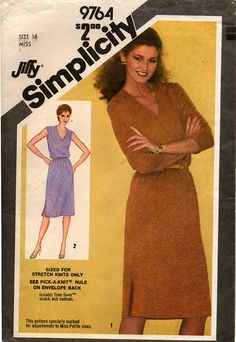 Uncut // Misses JIFFY DRESS PATTERN // Size by graymountaingoods