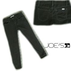 SALE Joe's Jeans-- slim fit ankle pants Joe's Jeans slim fit cut. 29 inch inseam ankle pants.  These are too long for me to wear as ankle pants so I wore them inside boots. Color is Lava Rock. True to size  No trades please joes Jeans