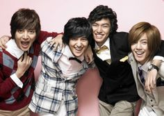 Oh maaan. The things I feel for these four men. *sigh* (Boys Over Flowers)