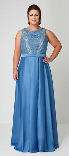 Vestido Plus Size Fiorella