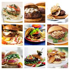 *Summer's #Best #Burger #Recipes