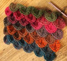 How To Crocodile Stitch Crochet Video Tutorial