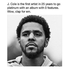 How many awards though? They need to stop sleeping on J Cole fr Follow me on Pinterest: @bre951