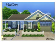 Maple Drive by sharon337 at TSR via Sims 4 Updates