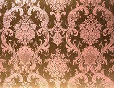 Italian Baroque pink and chocolate fabric DesignNashville