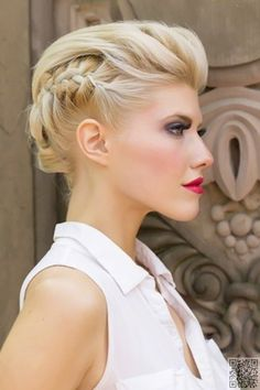 13. When You Want #Something Formal - #Summer Hair: Keep Your Cool with #These…