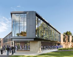 A renovation and expansion transforms the identity of Stonehill sports on campus Concept Architecture, School Architecture, Landscape Architecture, Architecture Design, Architecture Colleges, Gym Design, Design Firms, Athletic Center, Gym Center