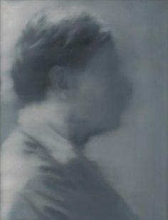 Gerhard Richter ~ Portrait Laszlo, 1965