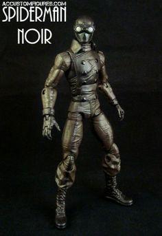 Spiderman Noir (Marvel Legends) Custom Action Figure