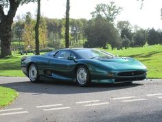 This rare 1994 Jaguar XJ220 was recently sold at Silverstone Auctions for £247,500. #luxury #cars #jaguar