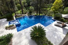Set amidst natural bush land a pool and entertaining area were must have items for this client.