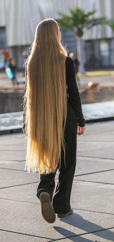 Long Blond, Long Dark Hair, Thick Hair, Donating Hair, Silky Smooth Hair, Really Long Hair, Beautiful Long Hair, Hair Beauty, Long Hair Styles