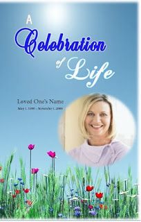the funeral memorial program blog how to make a template for an obituary - Free Celebration Of Life Program Template