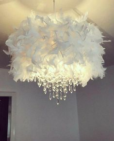 Chandelier Bedroom, Chandelier Lighting, Chandelier Ideas, Bedroom Lampshade, Handmade Chandelier, Iron Chandeliers, Handmade Home Decor, Diy Home Decor, Room Decor