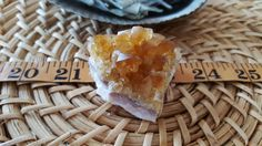 Citrine cluster A grade (Brazil) ~ 1  Reiki infused cluster approximately 2 x 1.75 x 1.5 inches (E19) by Kiliamma on Etsy